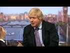 Boris Johnson trashed in Andrew Marr Show interview (24Mar13)