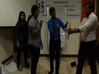 Muneer Samnani - Arrow breaking with PSMO College Alumni UAE - NLP Trainer.wmv