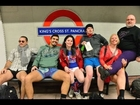 London Underground - No Trousers Tube Ride (Video)