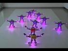 Dança sincronizada de robôs RoboBuilder Xmas Dance Routine