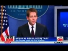 White House Press Secretary Jay Carney's Debut