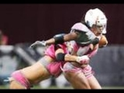 The Unseen Pics of A Whole New Game: Lingerie Football