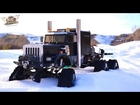 RC ADVENTURES - HD OVERKiLL - MEGA MACHiNE - 6WD Tracks, 5 Motors, 5 ESC's, PURE POWER SEMi TRUCK