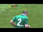 Craig Gilroy huge tackle on Leigh Halfpenny