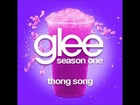 Thong Song - Glee