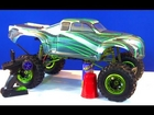 RC ADVENTURES - CHEAP! 1:8 to 1:5 Conversion - Build a 1/5th 4X4 MONSTER TRUCK for $300 TOTAL!
