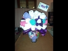 Diaper Bouquet Baby Shower Gift