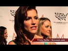 Tricia Helfer Interview on Animal Rescue at the HSUS Gala