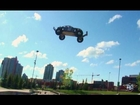 KING OF AIR - SKATE PARK PAIN 2 - RC ADVENTURES -  TWO TRAXXAS 4x4 SLASH COMPETE 4 TOP SPOT