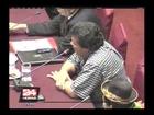 Congreso: justifican cobertura de actividades de Nadine en canal estatal