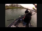 Side Drifting 20 pound Steelhead Caught