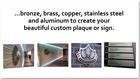 Indoor Retail Commercial Metal Signs Toronto