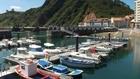 Ambiente hoy en el puerto de Candás