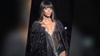 Naomi Campbell in Lingerie In Paris and Miley Cyrus Is Sexy Edgy In Miami