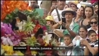 Flower festival parade in Colombia - no comment