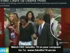 Is Obama checking out a girl's bum or beautiful tight fit d