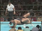 Yoshiaki Fujiwara vs Riki Choshu NJPW 6/9/87