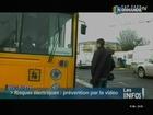 Les gens du voyages avertis aux dangers électriques (Caen)