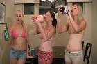 Soda Chugging Burping Contest