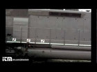 Slow Motion Train Crash