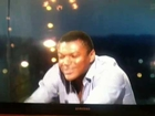 Marcel Desailly celebrates Ghanas penalty