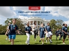 First Lady Michelle Obama Participates in a Let's Move! Fireside Hangout on Google+